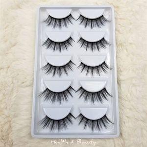 Mink Lashes Eyelashes 5 pairs